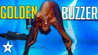 Cringy Contortionist Gets GOLDEN BUZZER on France's Got Talent | Got Talent Global