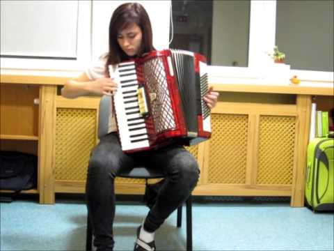 La Valse d Amelie akordeon