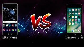 Huawei P10 Plus vs Apple iPhone 7 Plus   - Phone battle
