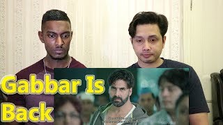 Gabbar is Back | Scene Reaction & Review | Akshay Kumar | By Stageflix
