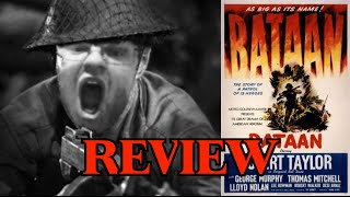 Bataan (1943) War Film Review