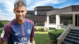 Neymar JR. House in Paris (Interior & Exterior) Inside Tour | 2018 NEW