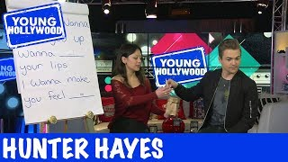Hunter Hayes Sings Musical Mad-Libs of WANTED!