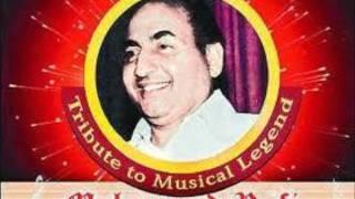 Rafi Rare Voice-Main Teri Heer Hoon-RAFIARUNGAUTAM.wmv
