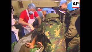 CROATIA: BANGLADESHI UN PEACEKEEPERS WOUNDED