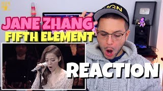 Charismatic Jane Zhang - Fifth Element Impossible Song | REACTION