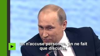 Vladimir Poutine :
