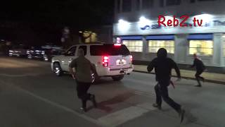 Car Attempts To Plow Through Protesters in Kirkwood, MO (HD edit) Convict Jason Stockley Protest