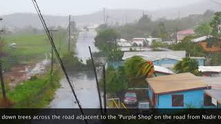 Irma Damage 090617 @ 1245 on St Thomas, VI