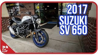2017 Suzuki SV 650 | First Ride