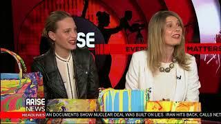 Arise Entertainment 360 talks with Elena Baltzoglou & Daniela Zahradnikova