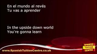 Learn Spanish Songs - María Isabel - El Mundo Al Revés