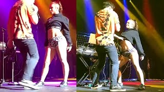 """Jade Chynoweth & Alex Aiono #changestour2017 Live on stage """" Work The Middle"""""""