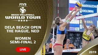 The Hague 4-Star 2019 - Women SF2 - Beach Volleyball World Tour