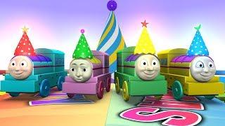 Happy Birthday Thomas - Thomas & Friend - Thomas toy Train - Toy Factory - Thomas Cartoon - Trains