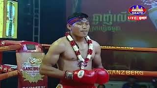 Dun Rotha vs Aboofazel (Iran) Seatv Khmer boxing 13/10/2018