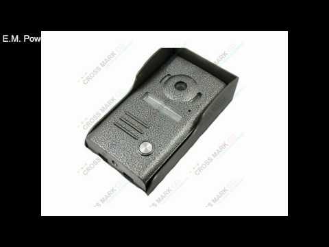 7 inch Colour wired video doorbell video door phone intercom for villa-Cross Mark Co