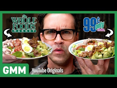 Whole Foods OR 99 Cents Store Taste Test
