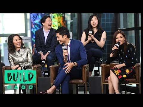 Constance Wu Awkwafina Ken Jeong Michelle Yeoh & Henry Golding Discuss Crazy Rich Asians