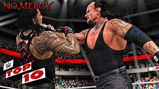 Top 10 Predictions For WWE No Mercy 2017 ( WWE 2K17 )