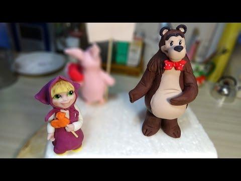 Забавный и очень добрый мультфильм маша и медведь сразу покорил сердца не только малышей, но и взрослых!