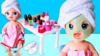 Baby Alive Lily ve Blonde Oyuncak Bebekler El ve Ayak Bakımında | Oyuncak Butiğim
