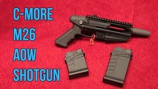 C-More M26 Underbarrel Shotguns and AOW   Shot 2017