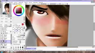 Paint Tool SAI - Painting with Grayscale Trick