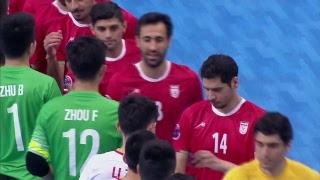 China vs Iran (AFC Futsal Championship 2018: Group Stage)