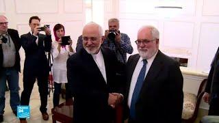 جواد ظريف يطالب أوروبا بأفعال وليس بأقوال لإنقاذ الاتفاق النووي