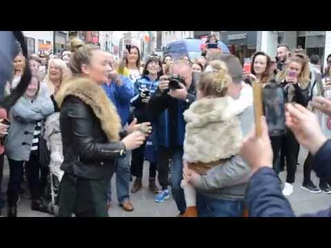 Dublin Dancers Proposal Flash Mob - Marry You