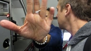 Flight Attendants Mad At Me!!!