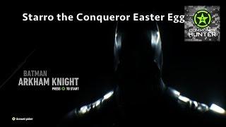 Starro the Conqueror Easter Egg - Batman: Arkham Knight