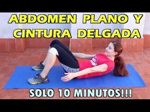 RUTINA PARA APLANAR ABDOMEN Y REDUCIR CINTURA ABDOMINALES PARA PRINCIPIANTES 10 MINUTOS