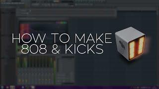 FL Studio Tutorial - How To Make Big 808's & Kicks #TRAP