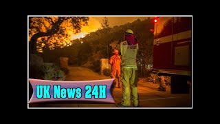 Santa barbara evacuated as wildfires roar, threatening celeb homes  UK News 24H