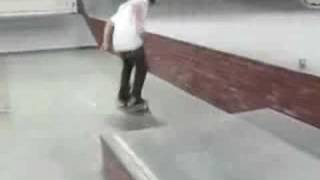 Mike Mo Capaldi - Ollie North Manual To Late Back Foot Flip