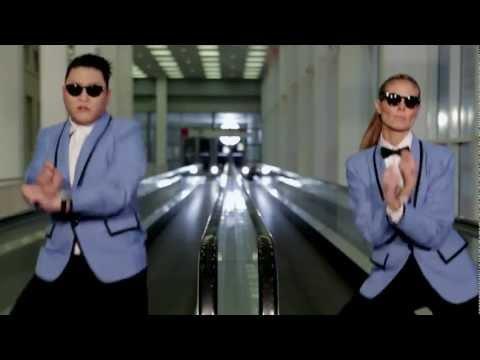 PSY feat. Heidi Klum Gangnam Style Extended Version HD