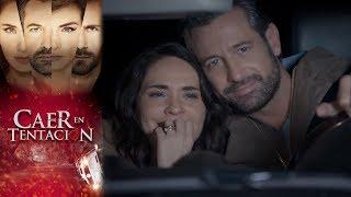 El accidente de Carolina y Damián | Caer en tentación - Televisa