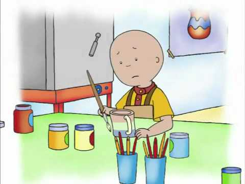 Caillou Videos Channel Caillou and The Broken Cup