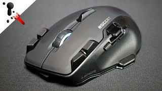 Roccat Leadr Wireless Mouse Review (Large, MMORPG)