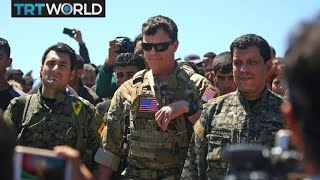 Why is the United States supporting PKK-linked YPG group in Syria?