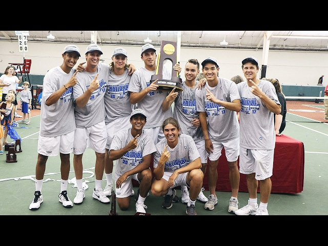 MEN'S TENNIS - 2017 NATIONAL CHAMPIONS