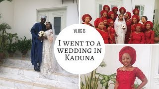 Vlog 6 - I went to Kaduna for a Wedding! | OmogeMuRa