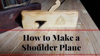 How To Make a Shoulder Plane With Skewed Iron A Collaboration with BearKat Wood
