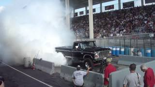 79 F250 Burnout Carlisle All Ford Nationals 2012