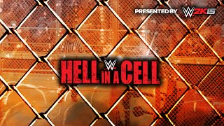WWE HELL IN A CELL 2014 - FULL PPV LIVE CALL IN SHOW - WWE 2K14