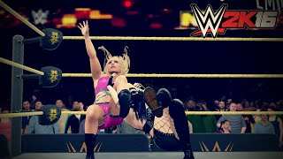 WWE 2K16 Paige vs Emma NXT Women's Championship (New Gameplay)