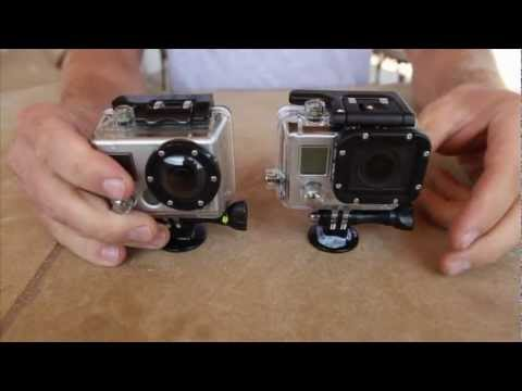 GoPro Hero 3  Hero 2 Comparison
