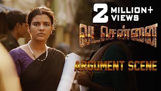 VADACHENNAI - Argument Scene | Dhanush | Ameer | Andrea Jeremiah | Vetri Maaran